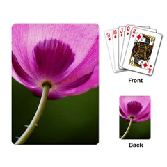 Poppy Playing Cards Single Design by Siebenhuehner