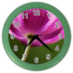 Poppy Wall Clock (color) by Siebenhuehner