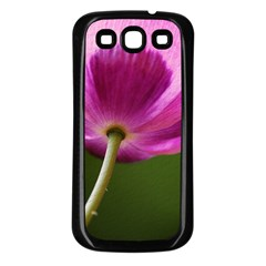 Poppy Samsung Galaxy S3 Back Case (black) by Siebenhuehner