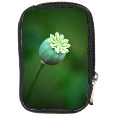 Poppy Capsules Compact Camera Leather Case by Siebenhuehner