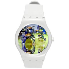 Marble Plastic Sport Watch (medium) by Siebenhuehner