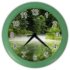 Foog Wall Clock (color) by Siebenhuehner