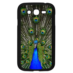 Peacock Samsung Galaxy Grand Duos I9082 Case (black) by Siebenhuehner