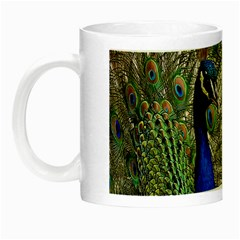Peacock Glow In The Dark Mug by Siebenhuehner