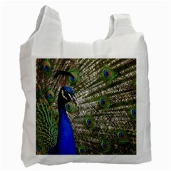 Peacock Recycle Bag (two Sides) by Siebenhuehner