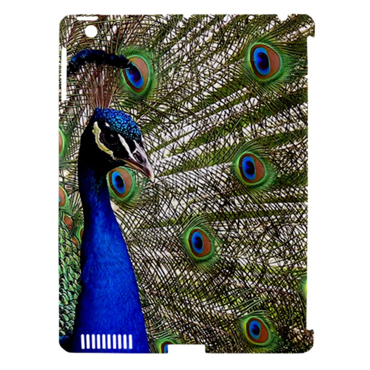 Peacock Apple iPad 3/4 Hardshell Case (Compatible with Smart Cover)