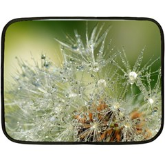 Dandelion Mini Fleece Blanket (two Sided) by Siebenhuehner