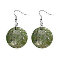 Dandelion Mini Button Earrings by Siebenhuehner