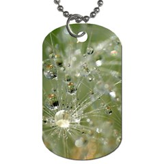 Dandelion Dog Tag (one Sided) by Siebenhuehner