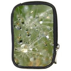 Dandelion Compact Camera Leather Case by Siebenhuehner