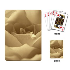 Rose  Playing Cards Single Design by Siebenhuehner