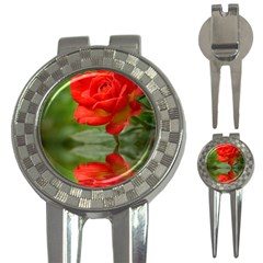 Rose Golf Pitchfork & Ball Marker by Siebenhuehner