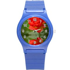 Rose Plastic Sport Watch (small) by Siebenhuehner