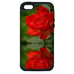 Rose Apple Iphone 5 Hardshell Case (pc+silicone) by Siebenhuehner