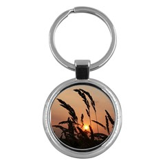 Sunset Key Chain (round) by Siebenhuehner