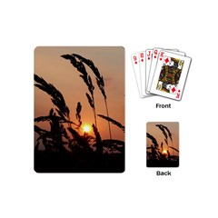 Sunset Playing Cards (mini) by Siebenhuehner
