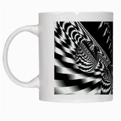 Space White Coffee Mug by Siebenhuehner