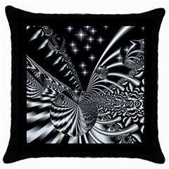 Space Black Throw Pillow Case by Siebenhuehner