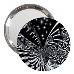 Space 3  Handbag Mirror by Siebenhuehner