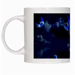 Sky White Coffee Mug by Siebenhuehner