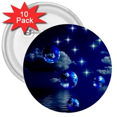 Sky 3  Button (10 Pack) by Siebenhuehner