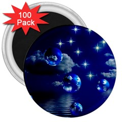 Sky 3  Button Magnet (100 Pack) by Siebenhuehner