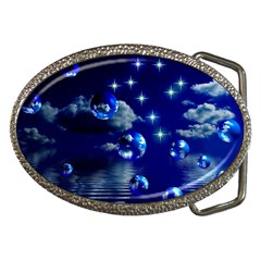 Sky Belt Buckle (oval) by Siebenhuehner