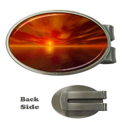 Sunset Money Clip (oval) by Siebenhuehner