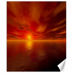 Sunset Canvas 20  X 24  (unframed) by Siebenhuehner