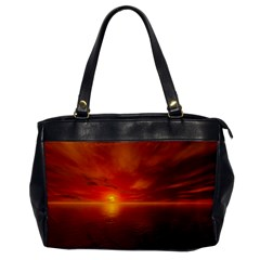 Sunset Oversize Office Handbag (one Side) by Siebenhuehner