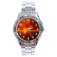 Sunset Stainless Steel Watch (men s) by Siebenhuehner