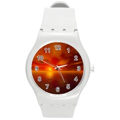Sunset Plastic Sport Watch (medium) by Siebenhuehner