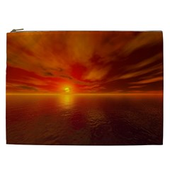Sunset Cosmetic Bag (xxl) by Siebenhuehner