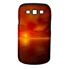 Sunset Samsung Galaxy S Iii Classic Hardshell Case (pc+silicone) by Siebenhuehner