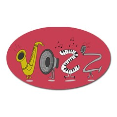 Jazz Magnet (oval)
