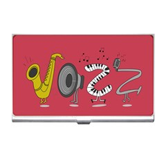 Jazz Business Card Holder by PaolAllen