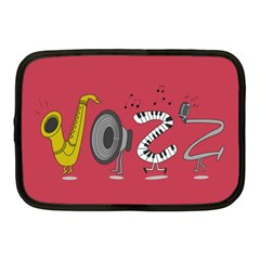 Jazz Netbook Case (medium) by PaolAllen