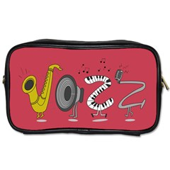 Jazz Travel Toiletry Bag (two Sides)