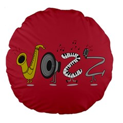Jazz 18  Premium Round Cushion