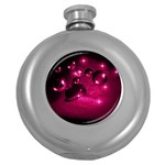 Sweet Dreams  Hip Flask (Round) Front