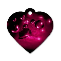Sweet Dreams  Dog Tag Heart (one Sided)  by Siebenhuehner