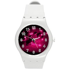 Sweet Dreams  Plastic Sport Watch (medium) by Siebenhuehner
