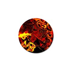 Fire Golf Ball Marker 4 Pack by Siebenhuehner