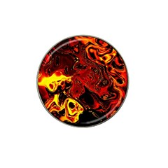 Fire Golf Ball Marker 4 Pack (for Hat Clip) by Siebenhuehner
