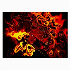 Fire Glasses Cloth (large, Two Sided) by Siebenhuehner