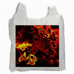 Fire Recycle Bag (one Side) by Siebenhuehner