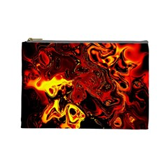 Fire Cosmetic Bag (large) by Siebenhuehner