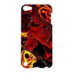 Fire Apple Ipod Touch 5 Hardshell Case by Siebenhuehner