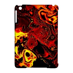 Fire Apple Ipad Mini Hardshell Case (compatible With Smart Cover) by Siebenhuehner