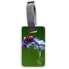 Good Luck Luggage Tag (two Sides) by Siebenhuehner